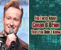 Fun Facts about Conan O'Brien That You Didn't Know