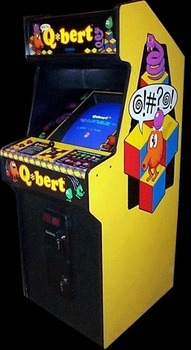 Qbert Was Published And Created By Gottlieb An American Arcade Game Corporation In 1982 Your Goal Is To Hop From One Cube Another Change The