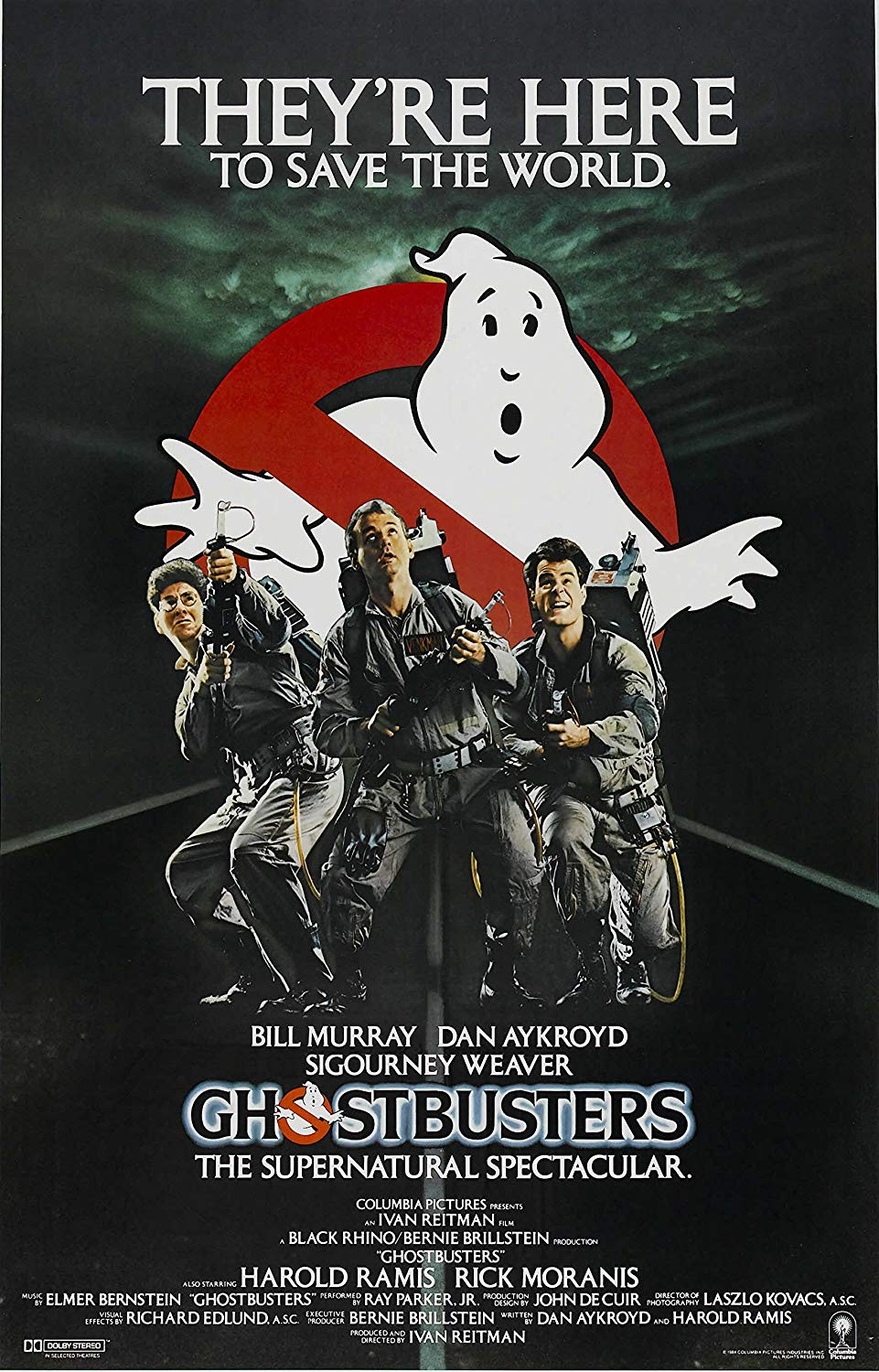 Ghostbusters-POSTER-Movie-11-x-17-Inches--28cm-x-44cm--1984--Style-G-
