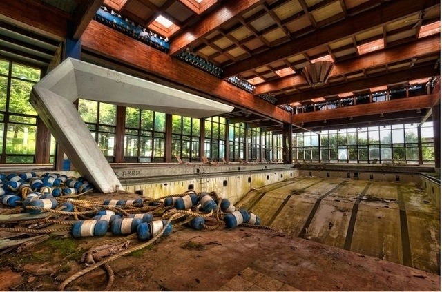 The abandoned Grossinger's Catskill Resort And Hotel